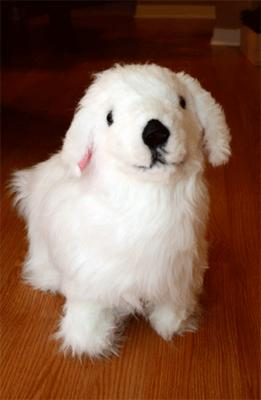 Hand Made Pyr Puppy